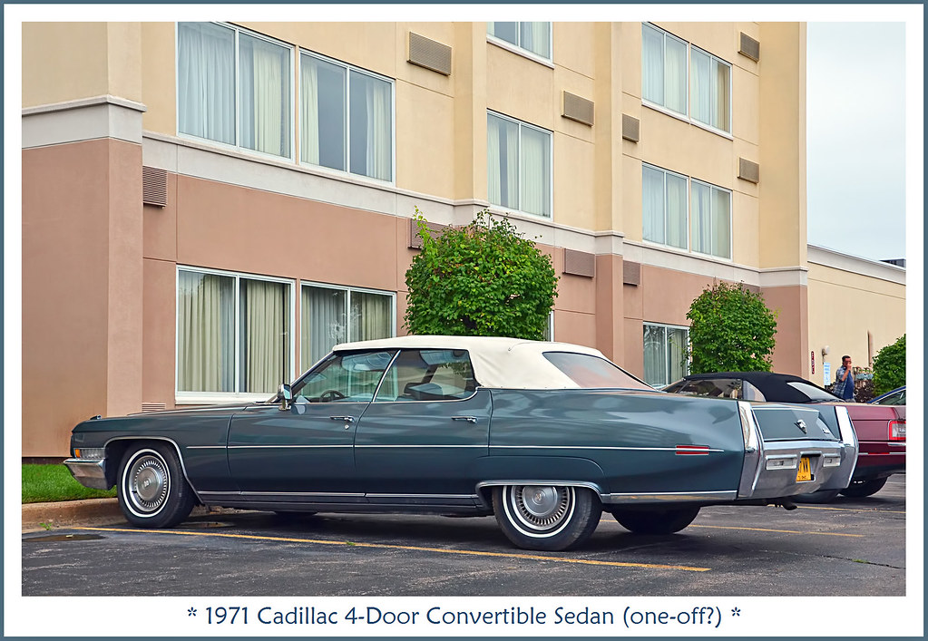 1971 cadillac 4 door convertible sedan one off the. Black Bedroom Furniture Sets. Home Design Ideas