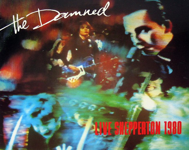 "DAMNED LIVE AT SHEPPERTON 1980 Chiswick 12"" LP"