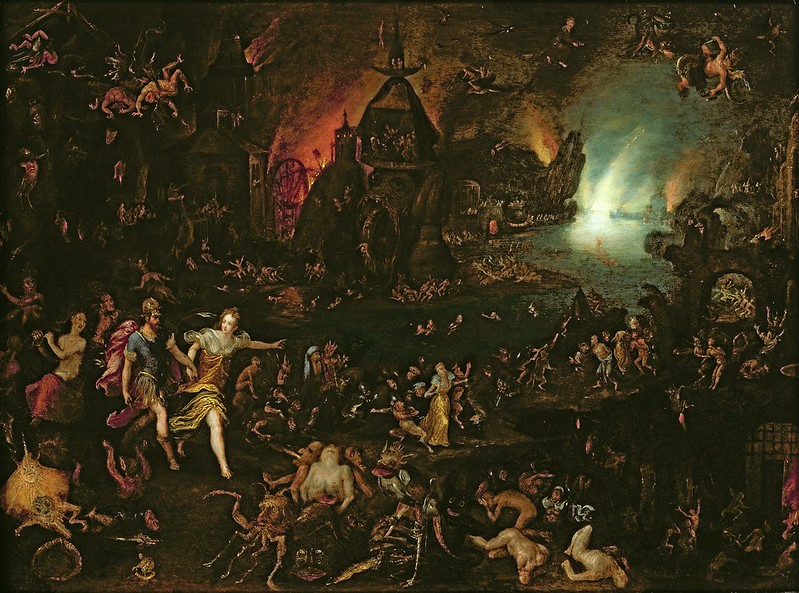 Jan Brueghel the Elder (attributed to) - Aeneas in the Underworld, 1596