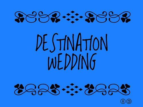 Buzzword Bingo: Destination Wedding