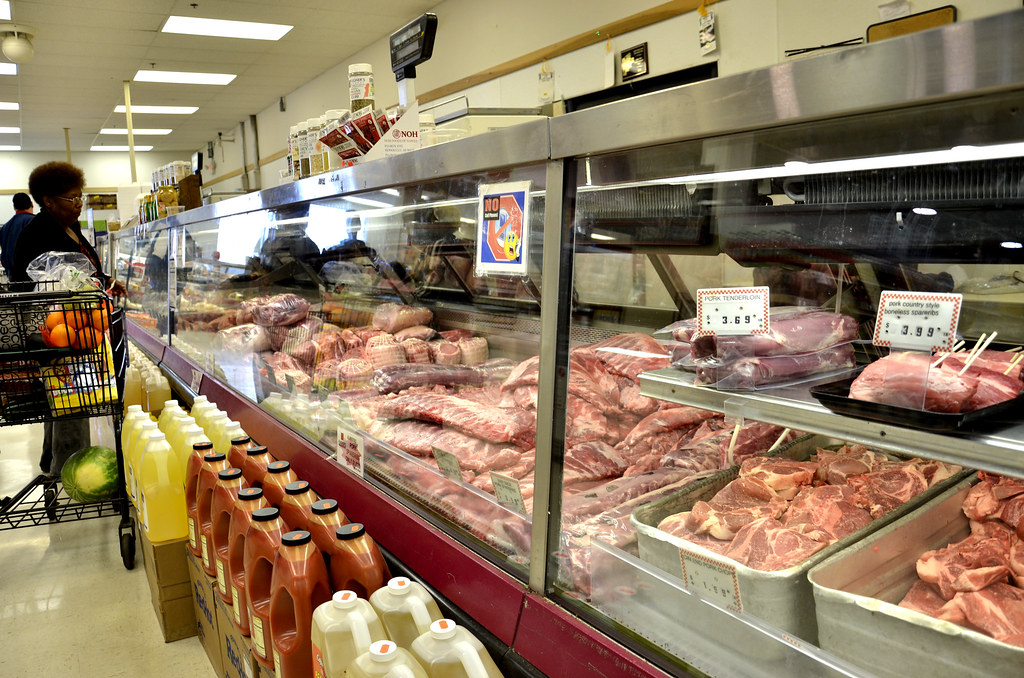 Meat counter at fligners market lorain visit lorain county meat counter at fligners market lorain by visit lorain county junglespirit Gallery