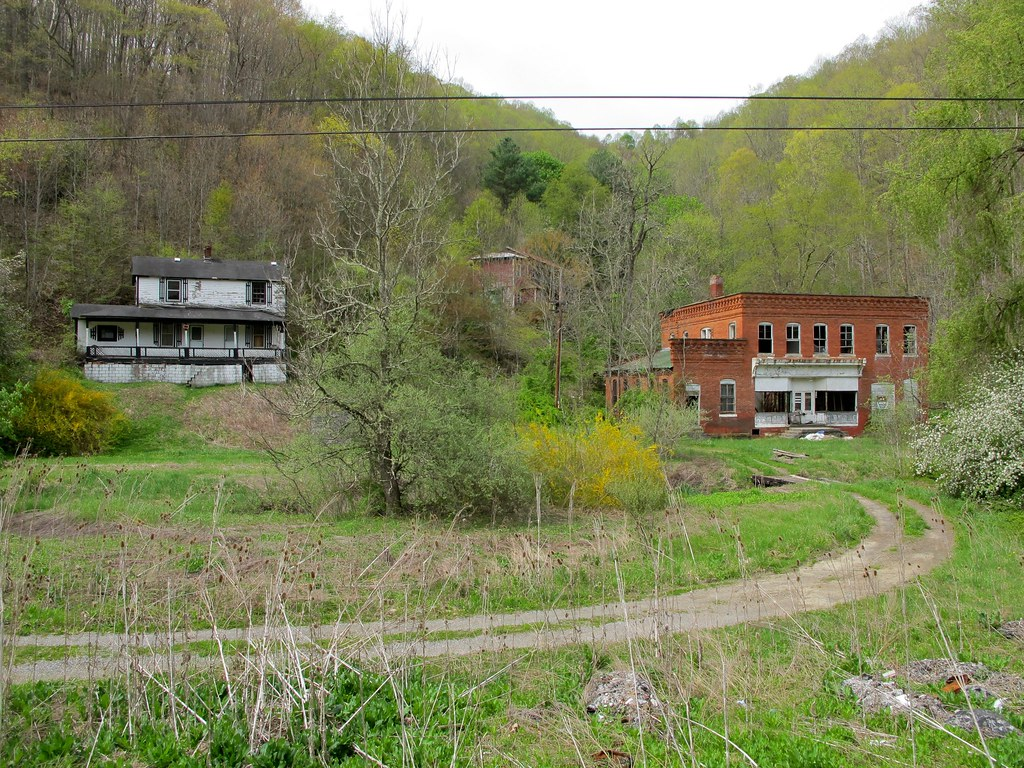 Springton Mercer County Wv Company Store And Houses Of