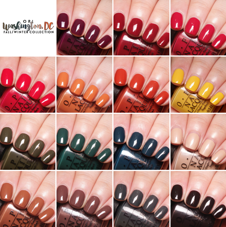 OPI Washington DC blog collage