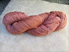 Rosewood yarn