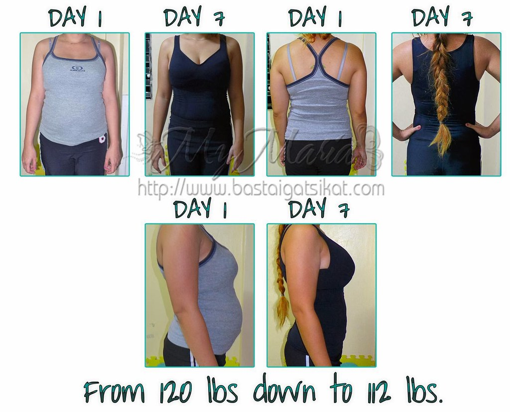 before and after photos juicing jump start