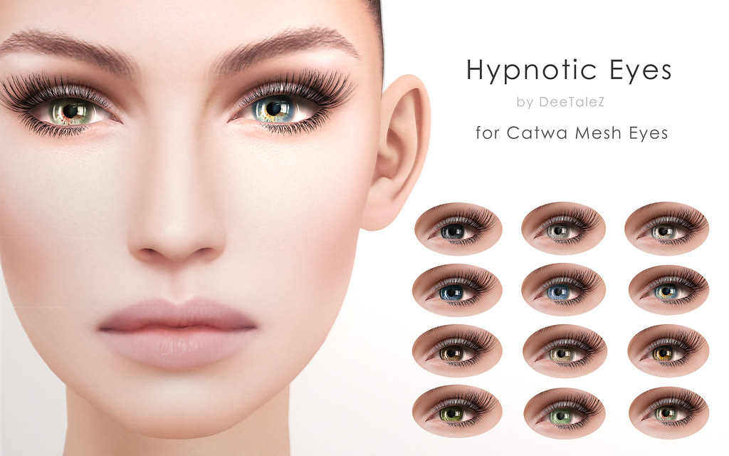 deetalez hypnotic eyes appliers for catwa mesh eyes out no flickr