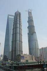 SWFC, Jin Mao Tower, Shanghai Tower