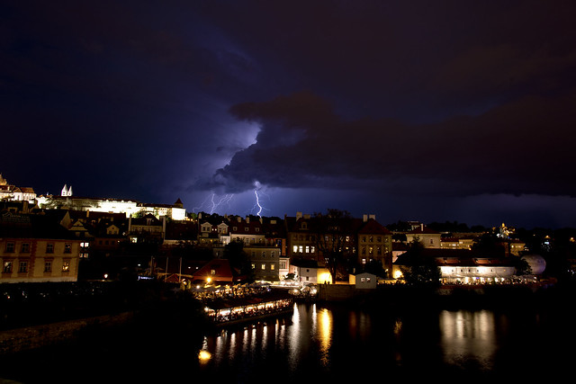 God of Lightning in  Praha