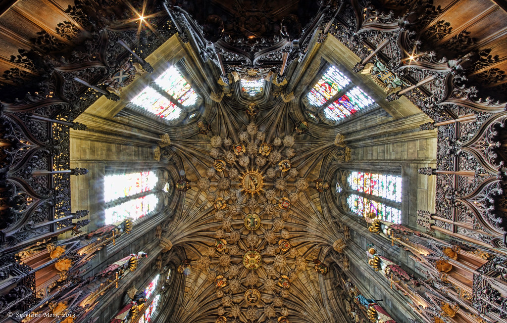 The Thistle Chapel St Giles Edinburgh Sylviane Moss