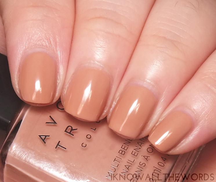 Avon true colour multi benefit bb polish restoring beige