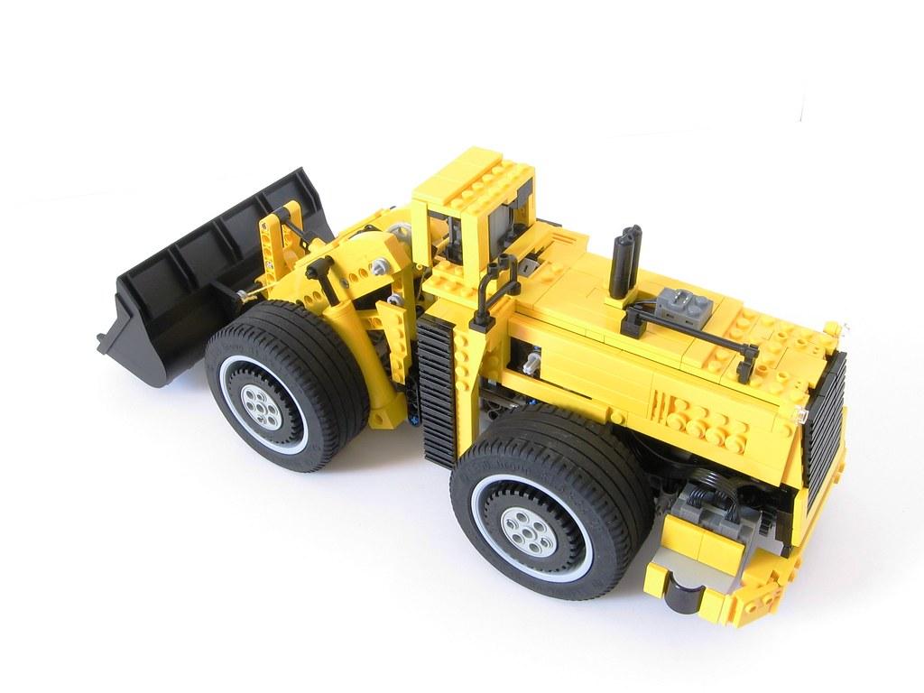 ... LeTourneau L-2350 Lego RC model | by Tamas090
