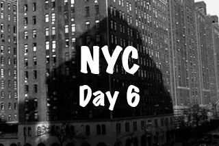 NYC Trip - Day 6 (Thursday March 31th, 2016)