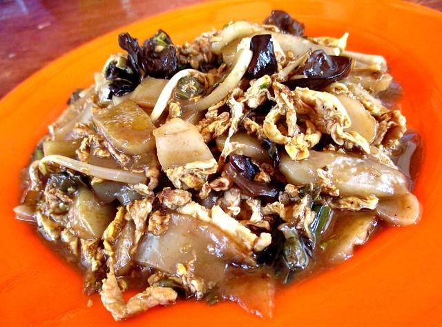 Friends Kopitian fried pek koi, moist/wet