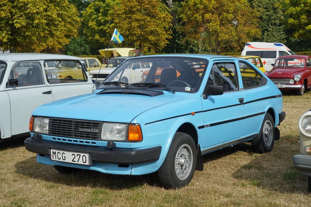 Skoda 130 Rapid 3 9 2016 3220 Skoda Czechoslovakia