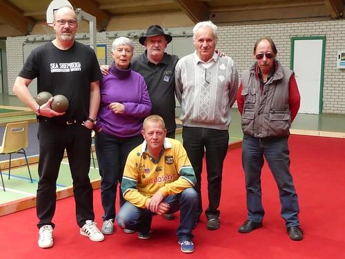 09/10/2016 - Morlaix : Concours de boules plombées en triplettes formées