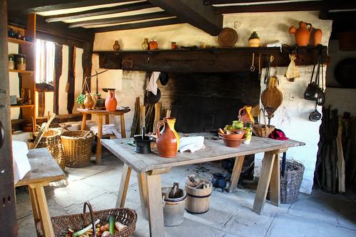 Mary Arden S Farm Kitchen