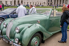 Aston Martin 1948 Langonda Coupe -Greenwich Concours ORNC Sunday 19th May 2013 by Dave Levitt