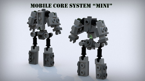 Mobile Core System - mini (MCS-m) Inner Frame | by phayze81
