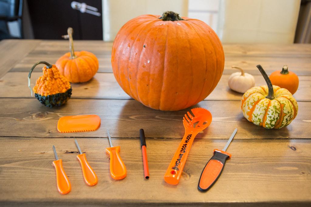 Talk nerdy to me netflix inspired pumpkin carving