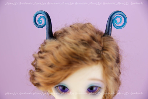 Snail antennae for YOSD | by AnnaZu