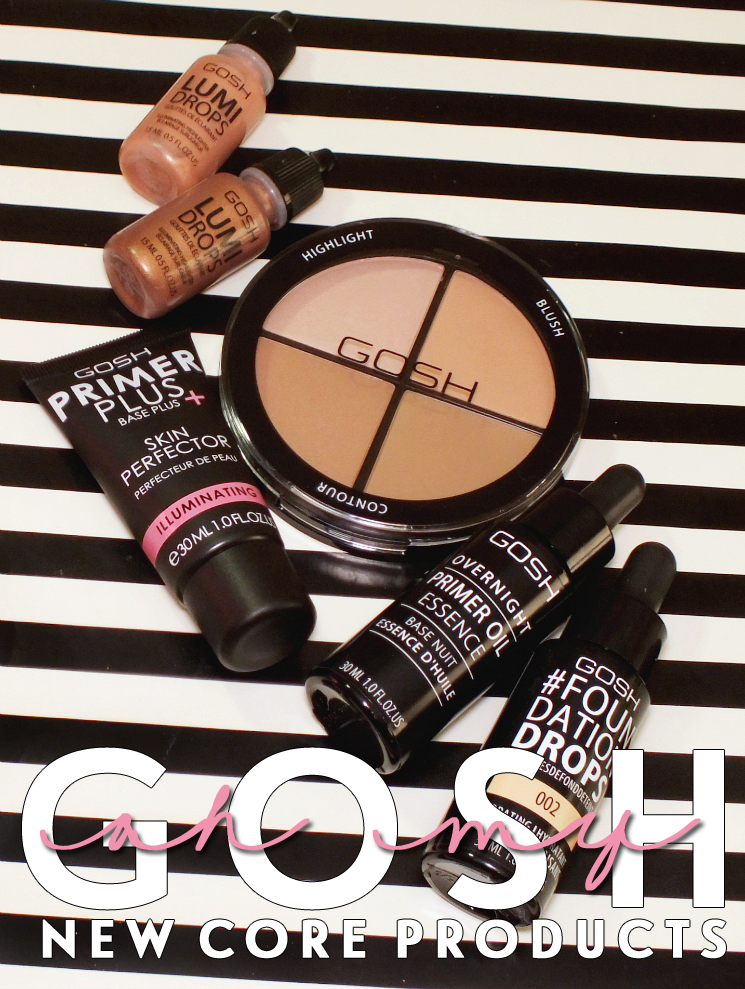 gosh new core products- face