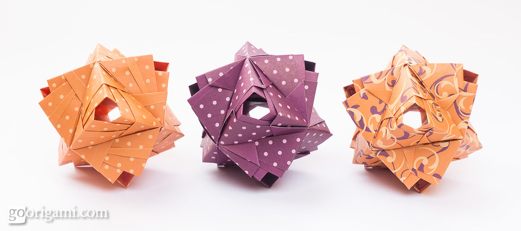 Origami Kusudama Origami Kusudama Maria Sinayskaya Recta Flickr