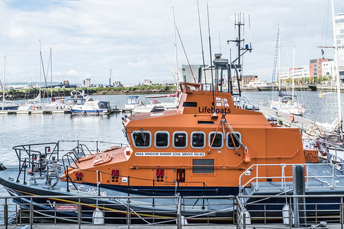 RNLB WINDSOR RUNNER - CIVIL SERVICE NO.42 [A VISIT TO THE TITANIC QUARTER IN BELFAST]-121129 | by infomatique