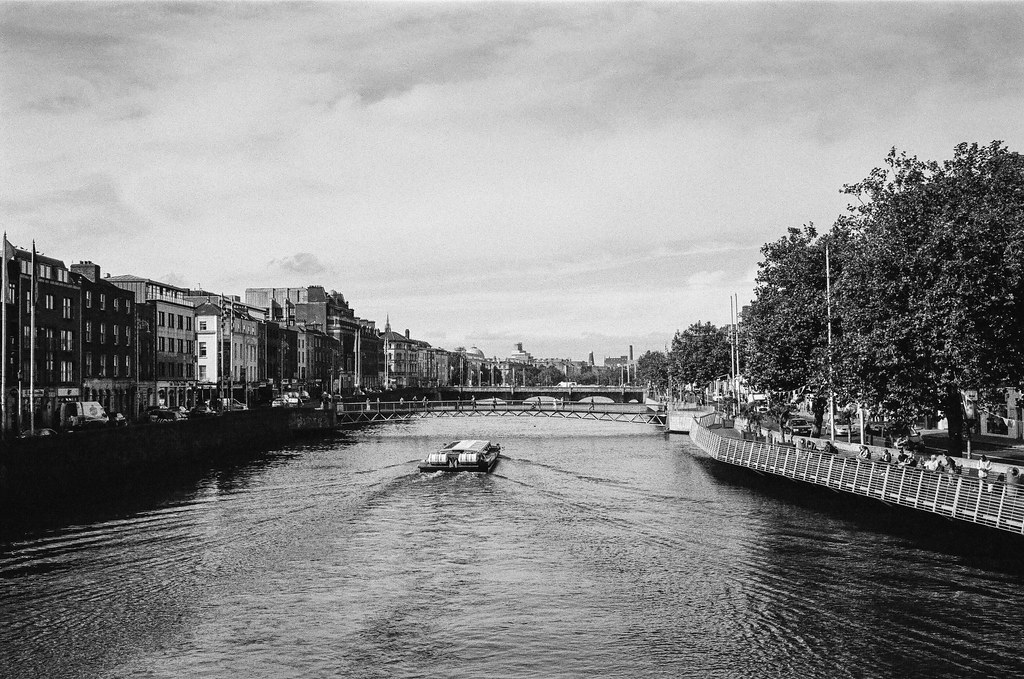 A river runs through Dublin