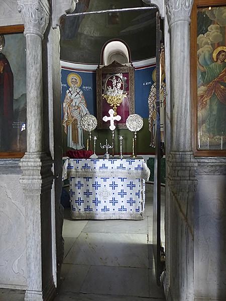 synthronon église filoti
