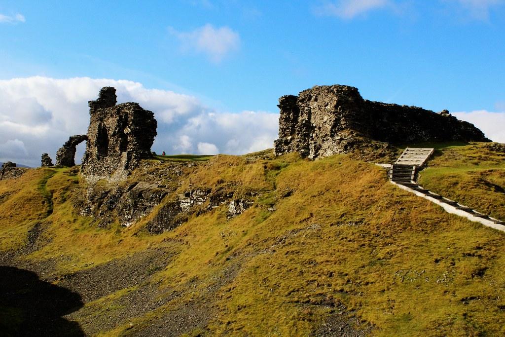 Castell Dinas Bran, Llangollen, Wales