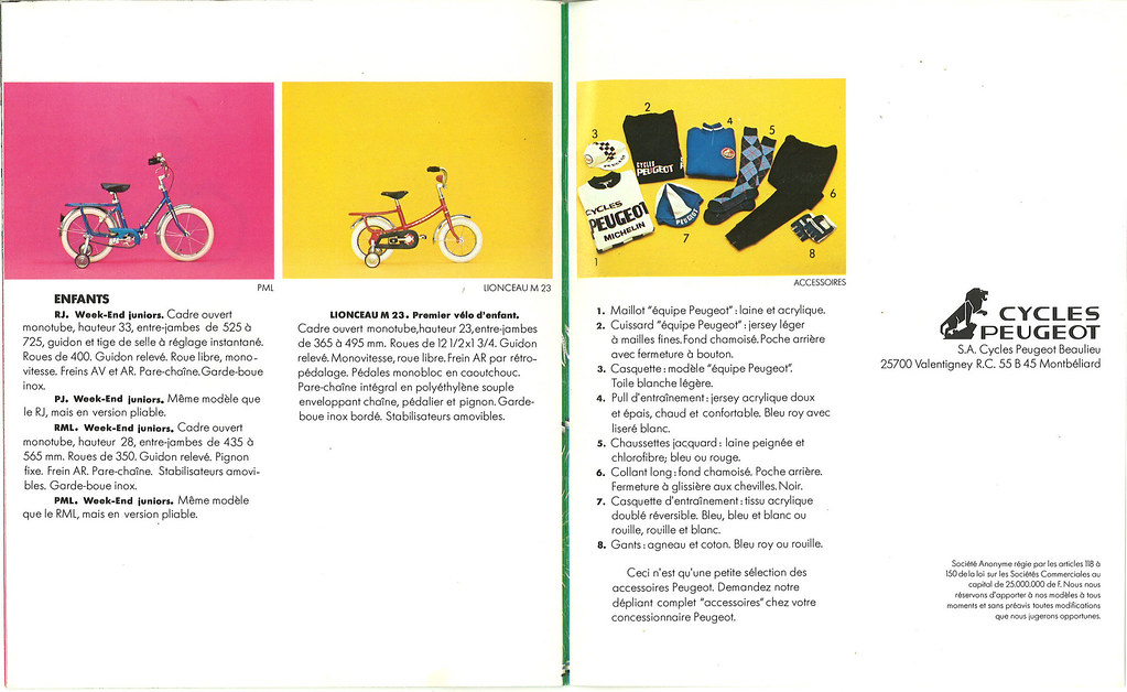 catalogue cycles peugeot 1978 peugeot rj peugeot pj peugeo flickr. Black Bedroom Furniture Sets. Home Design Ideas