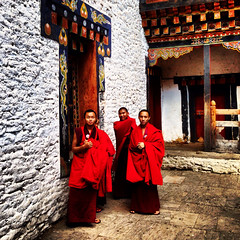 Extreme points of Bhutan