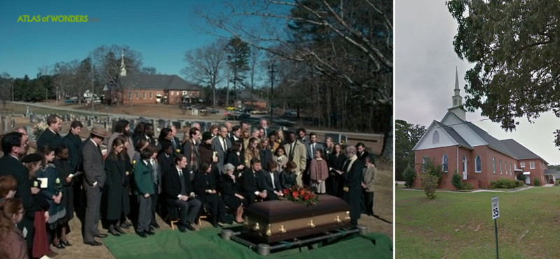 Stranger Things Funeral