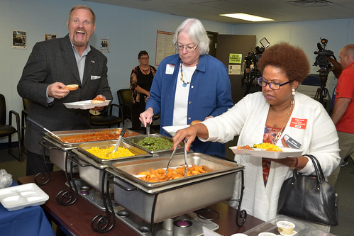 Trustee Edwards attends a Food Service Department Tour | by Board Office - Trustee F