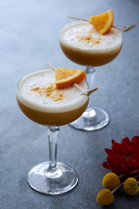 Maple Bourbon Sour