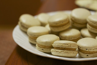 Salted caramel macarons | by the boastful baker