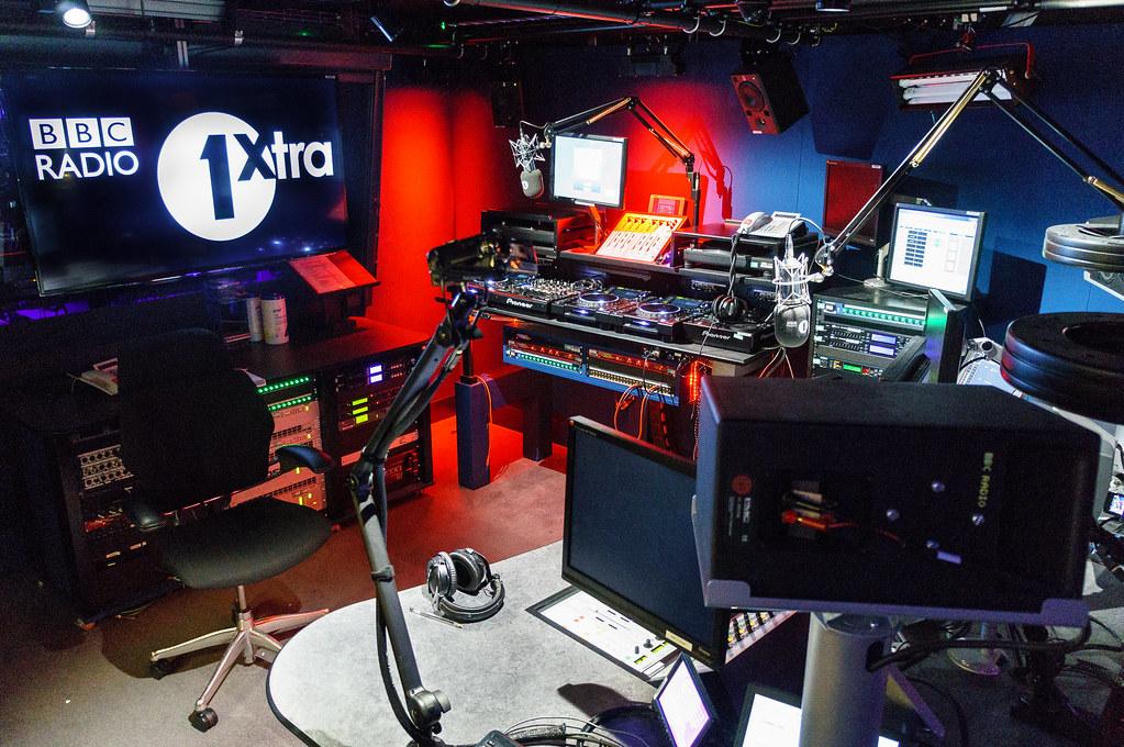 Radio 1 News: Radio 1 Xtra Studio - BBC New Broadcasting House