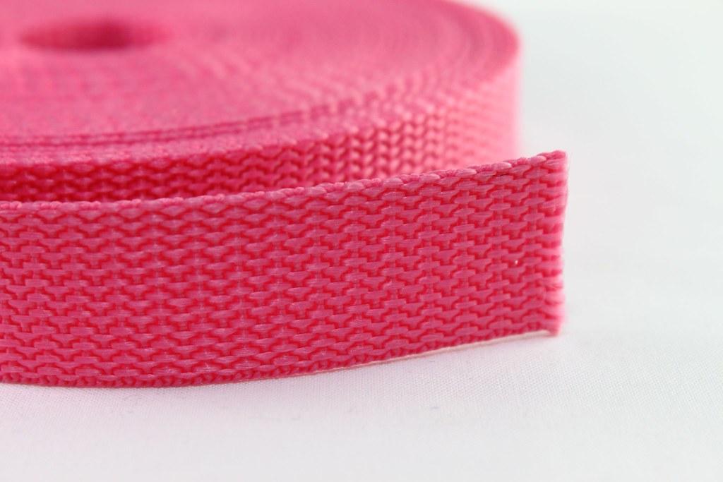 Gurtband 20mm, rosa