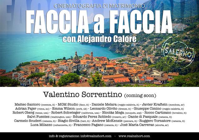 FACCIA A FACCIA con valentino Sorrentino coming soon web