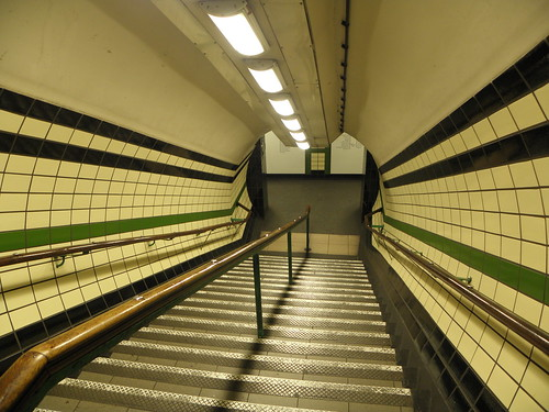 Goodge Street to Archway Station on the North Line
