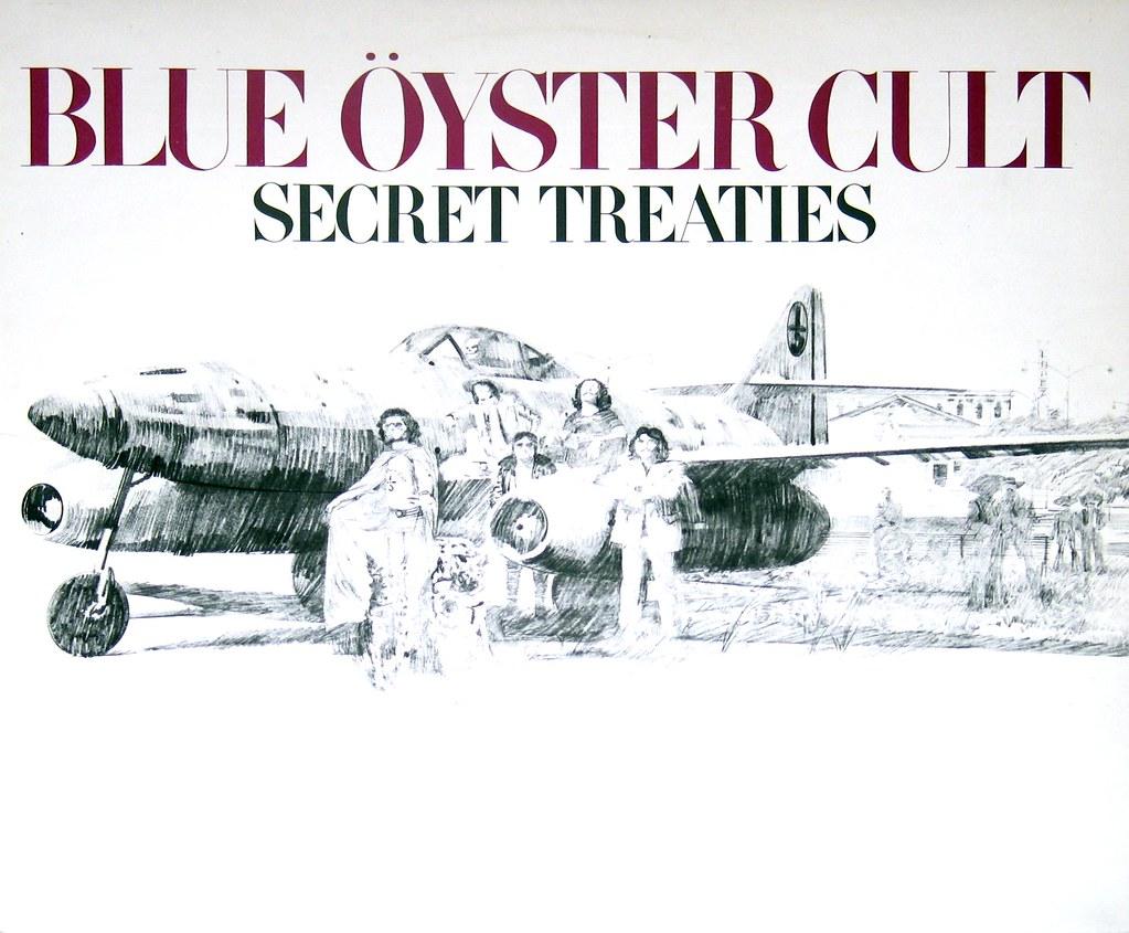 Risultati immagini per secret treaties blue oyster cult
