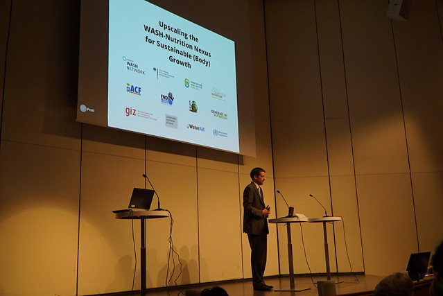WASH and Nutrition at World Water Week 2016