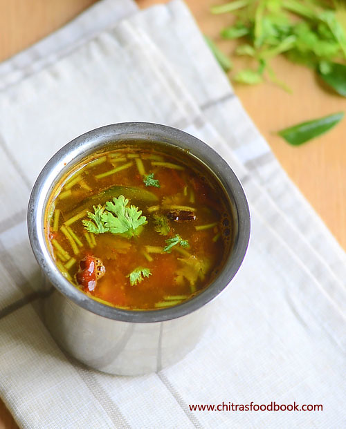 Kerala tomato rasam recipe