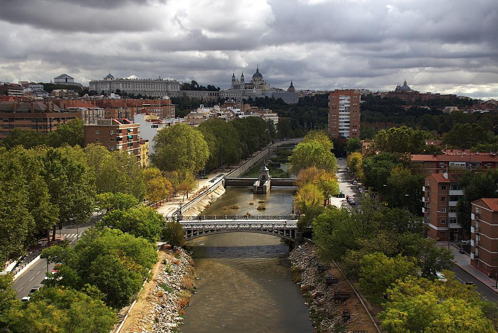 puentes de madrid, puente reina victoria
