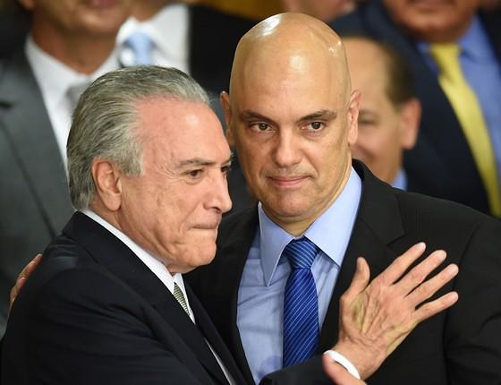 Ministro do STF, Alexandre Moraes suspende nomeação do novo nº 1 da PF