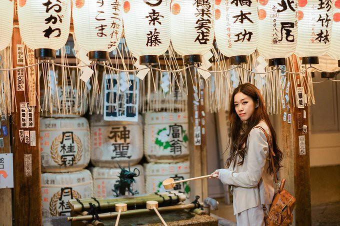 Japan   went girlfriends wedding tour, a youthful interpretation of the small fresh