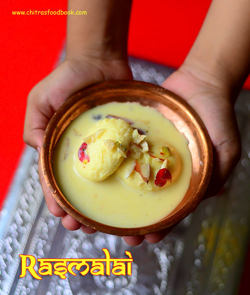 Rasmalai with readymade rasgulla