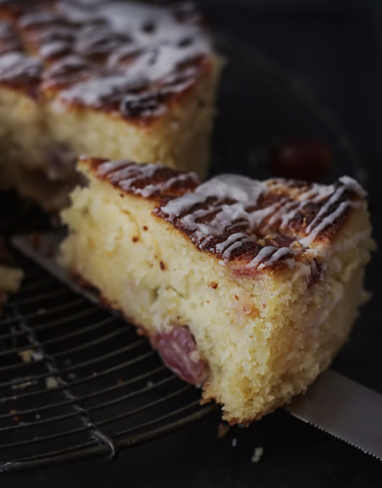 Vanilla Glaze For Chocolate Cake