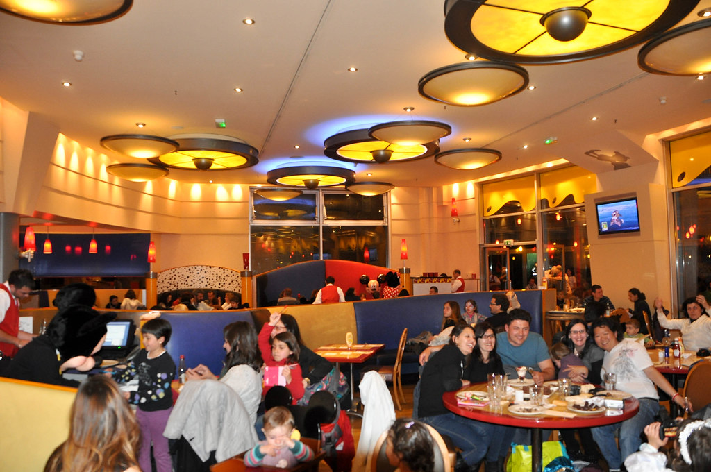 Cafe Mickey Disneyland Paris Saln del piso inferior Flickr