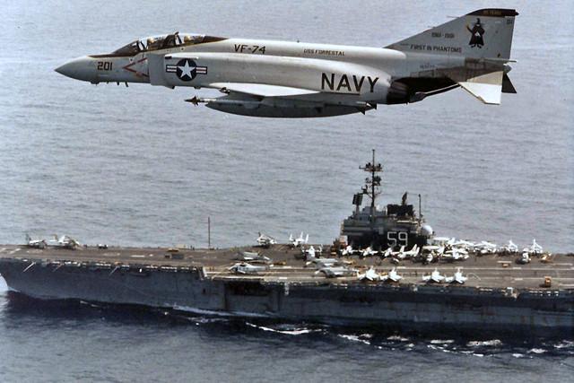 VF-74 F-4J Phantom II BuNo 153777, AA-201